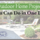 6 easy outdoor home projects